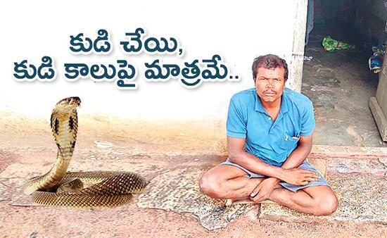 Chittoor Man Bitten by Snake 37 Times Seek Help - Sakshi