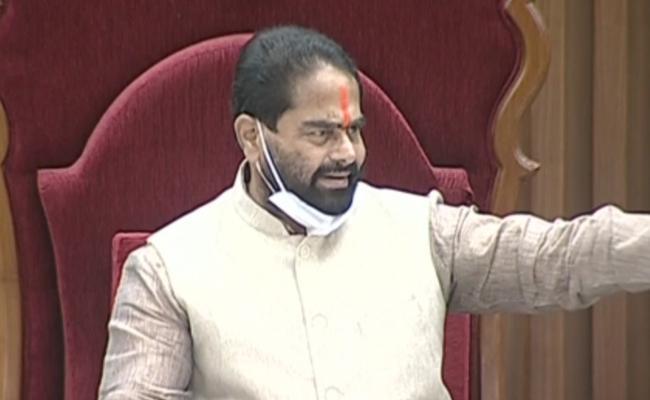 AP Assembly Session 2020: Marshals Complaints To Speaker On TDP MLAs - Sakshi
