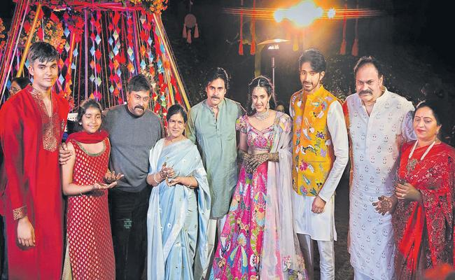 Niharika Konidela Ties Knot With Venkata Chaitanya In Udaipur - Sakshi
