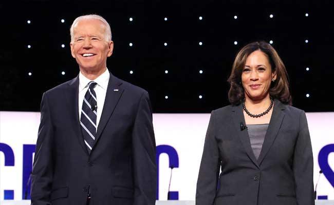 Joe Biden And Kamala Harris Was Person Of Year Award By Times Magzine - Sakshi