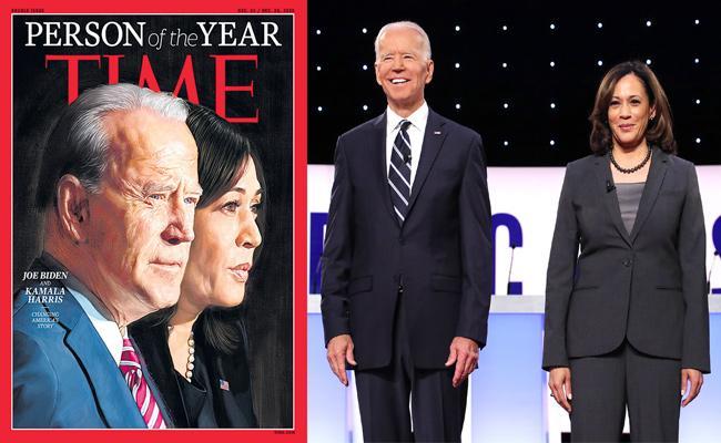 Joe Biden and Kamala Harris named Time Person of the Year - Sakshi