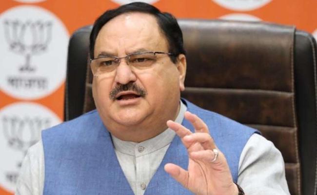 BJP Chief JP Nadda Tests Coronavirus Positive - Sakshi