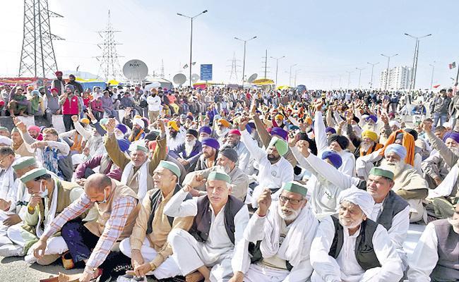 Farmer unions to be on hunger strike on December 14 against farm laws - Sakshi
