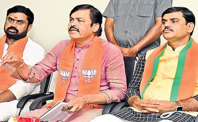 GVL Narasimha Rao Fires On Chandrababu - Sakshi