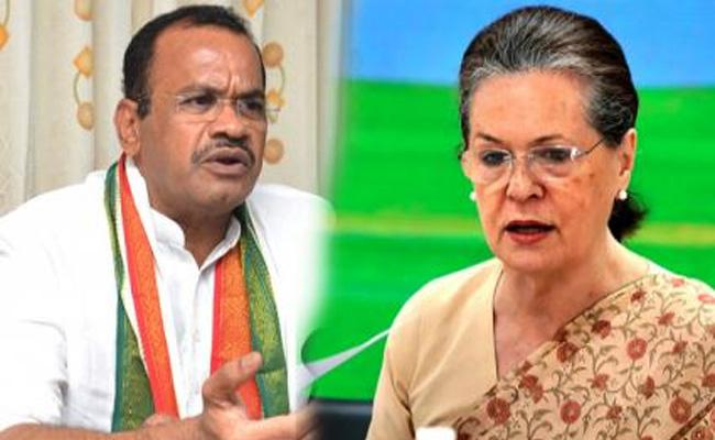 New TPCC Chief Race Komatireddy Meets Sonia Gandhi - Sakshi