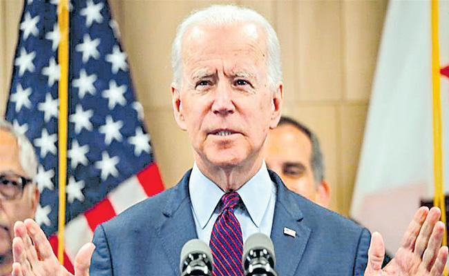 USA: Joe Biden to take oath outside Capitol amid virus restrictions - Sakshi