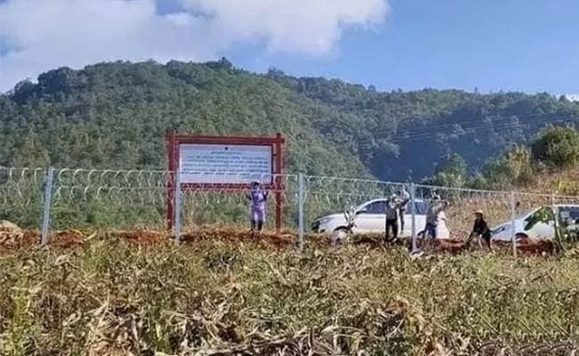 China Building 2000 KM Long Great Wall Along Border Myanmar - Sakshi
