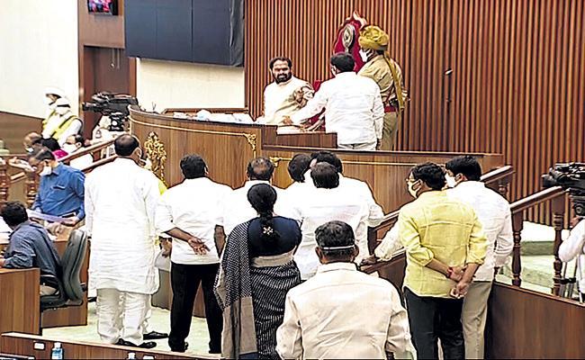 YSR Congress Party Leaders Fires On TDP Leaders Politics - Sakshi