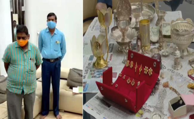 ACB Raids In APSPDCL Engineer Vijayakumar Reddy House - Sakshi