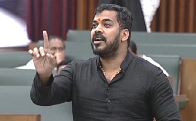 Anil Kumar Yadav Discussion On Polavaram In AP Assembly - Sakshi