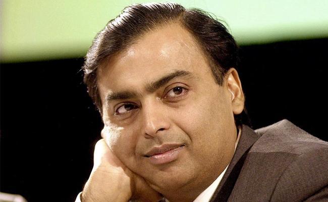 Mukesh Ambanis family Asias richest -Bloomberg index - Sakshi