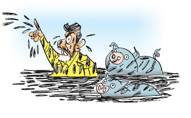 Kommineni Srinivasa Rao Critics Yellow Media In Andhra Pradesh - Sakshi