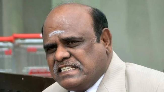 Former High Court Judge CS Karnan Arrested Offensive Comments - Sakshi