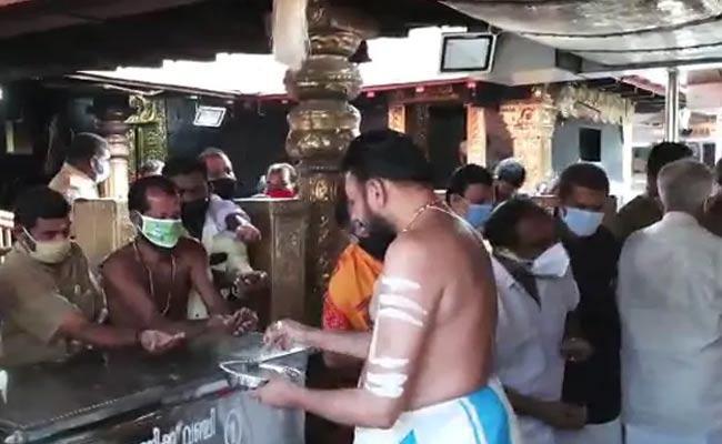 Sabarimala To Deliver Prasadam For Devotees Through Speed Post - Sakshi