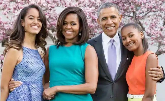 Barack Obama Speaks About Malias Boy Friend - Sakshi