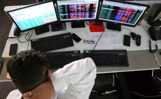 Market turns into losses after brief positive opening - Sakshi