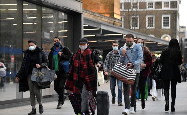 UK Hit By New Corona Virus Strain - Sakshi