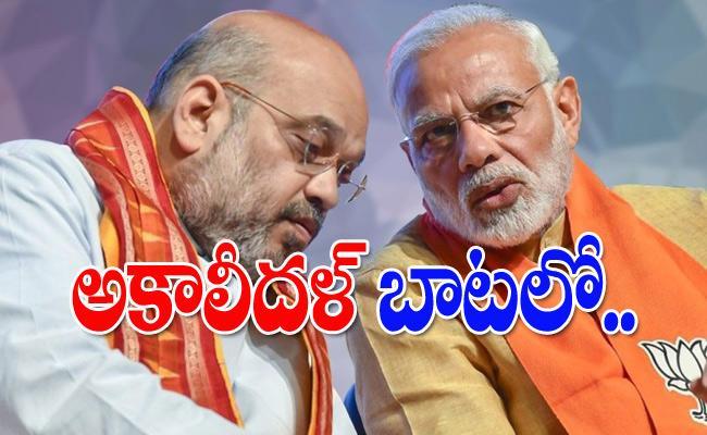 BJP Ally Rashtriya Loktantrik Party Quits NDA Over Farm Laws - Sakshi