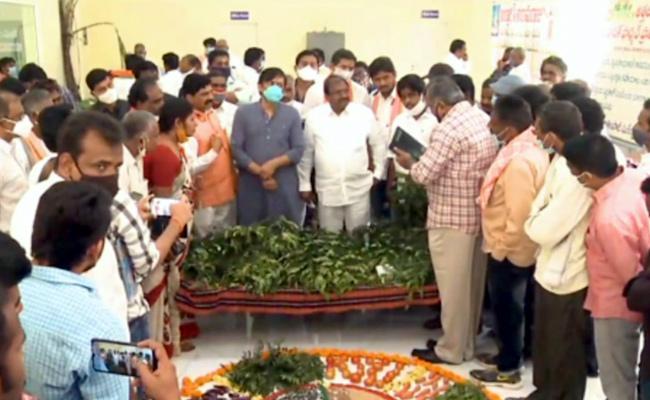 MP GVL Narasimha Rao Spoke On Agricultural Laws - Sakshi