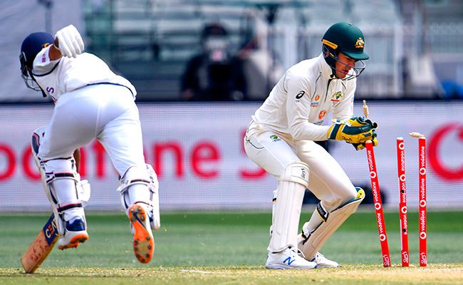Boxing Day Test: Team India All Out For 326 In First Innings Day 3 - Sakshi