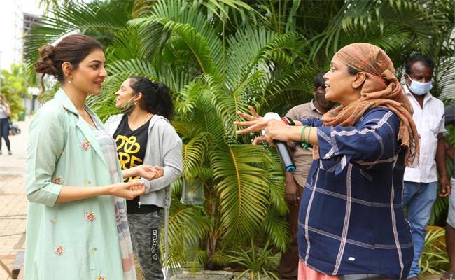 Kajal Aggarwal, Dulquer Salmaan Wraps Up Hey Sinamika - Sakshi