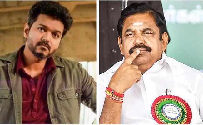 Thalapathy Vijay Meets With Tamilnadu CM Palanisamy - Sakshi