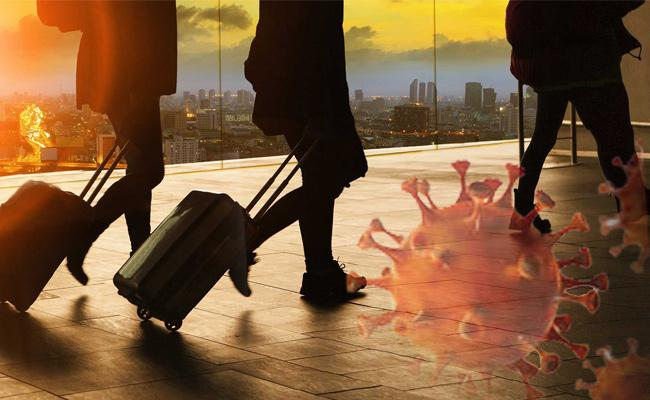 Air Passengers Escape In Bangalore Over Avoid Corona Isolation - Sakshi
