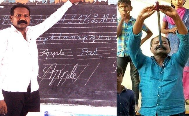 Special Story On Science Teacher Lakkamthota Varaprasad - Sakshi