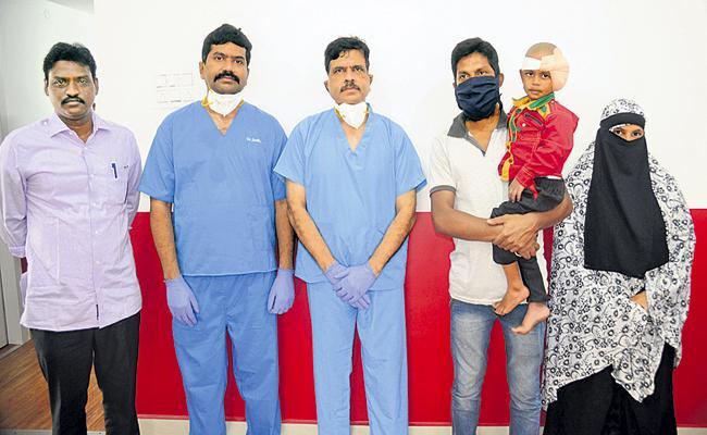 Cochlear Implant For Both Ears By YSR Aarogyasri Scheme In AP - Sakshi