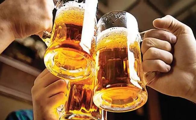 Liquor Sales Records Break In Telangana - Sakshi
