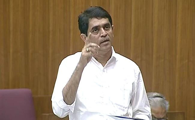 AP Assembly Sessions: Buggana Rajendranath Comments On Govt Employees - Sakshi