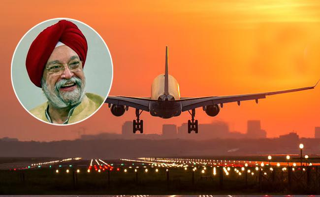 Domestic Flights Allowed At 80 Percentage Of Pre Covid Levels - Sakshi