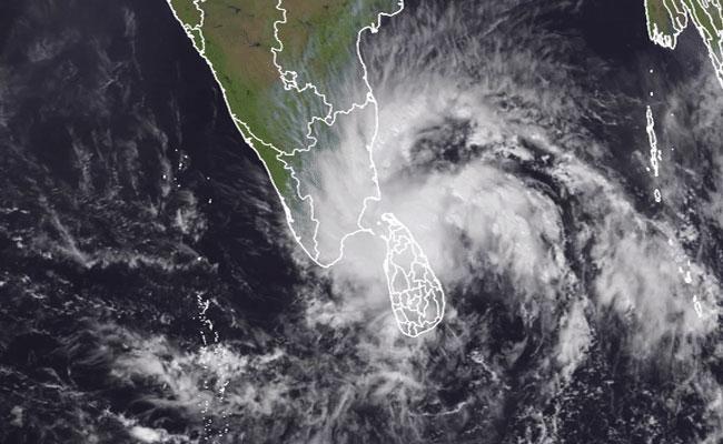 Impact Of Burevi Cyclone In Northern Sri Lanka - Sakshi