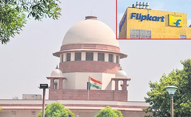 Supreme Court stays probe against Flipkart by CCI - Sakshi