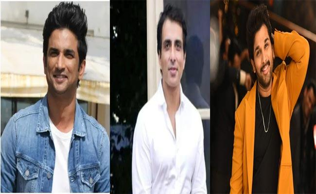 Sonu Sood beats Allu Arjun in Yahoo Most Searched Males list 2020 - Sakshi