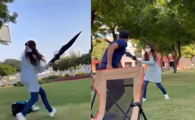 Keerthy Suresh Beats Director And Waiting To Take Revenge On Nithin - Sakshi