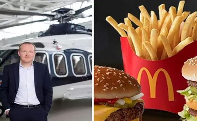 Russian Millionaire Viktor Martynov Flies 725 Kms For McDonalds - Sakshi