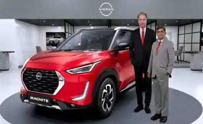 Nissan first Magnite SUV launched  - Sakshi