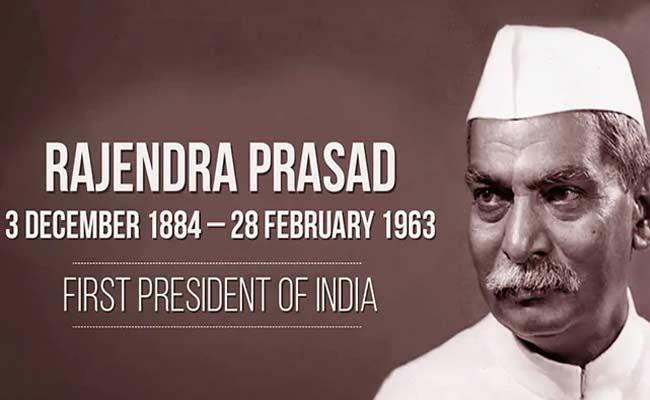 Dr Rajendra Prasad Birth Anniversary - Sakshi