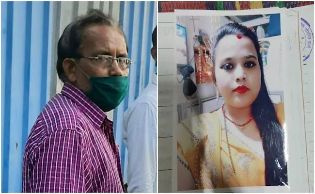 Woman Found Dead At Aksa Beach Killed By Father In Law - Sakshi