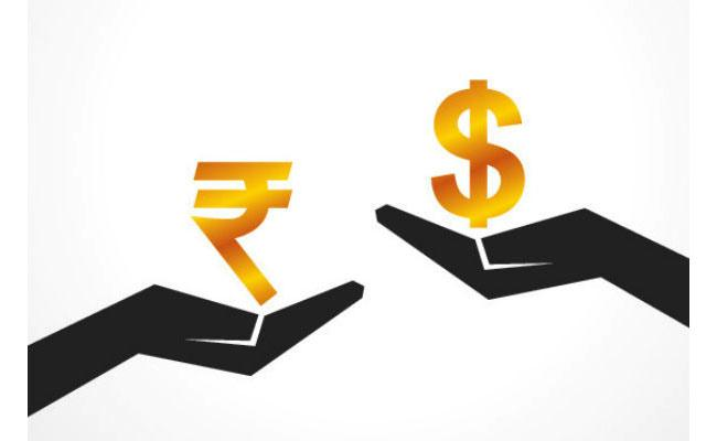 Rupee touches two months high vs dollar - Sakshi