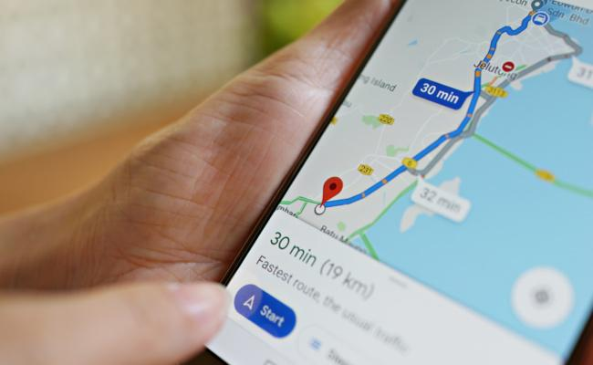 Google Maps Getting Ride Services in Menu - Sakshi