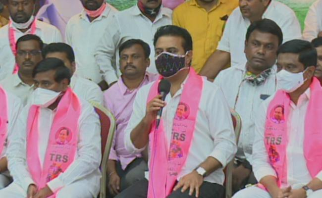 GHMC ELection Results : KTR Comments About TRS Winning - Sakshi