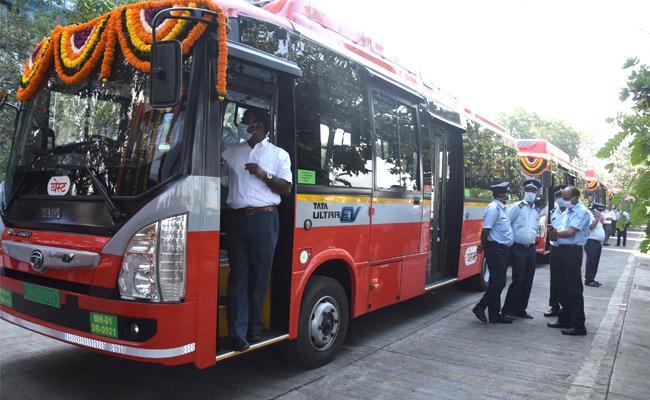 Best Adds Twenty Six Electric Buses - Sakshi