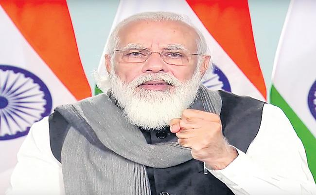 Corona vaccine may be ready in a few weeks  Says PM Narendra Modi - Sakshi