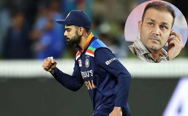 Virender Sehwag Lashes Out Virat Kohli About Team Selection For T20 - Sakshi