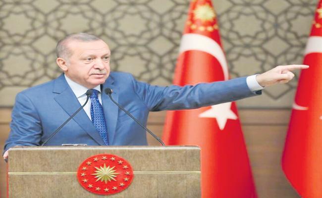 Turkey is preparing Syrian mercenaries to fight in Kashmir - Sakshi