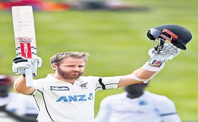 Kane Williamson registers his highest individual score in Hamilton Test - Sakshi