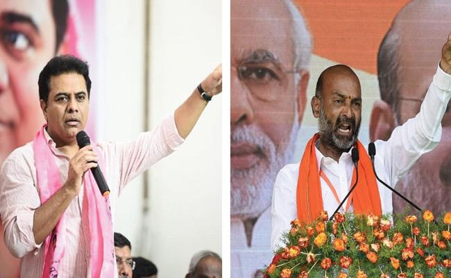 GHMC Election Results: Exit Polls Results Upside Down TRS Won 55 - Sakshi