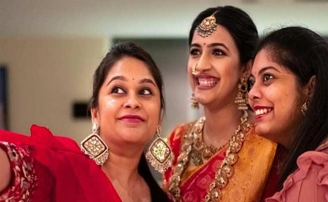 Niharika Konidela shares funny photos with her perfect bridesmaids - Sakshi